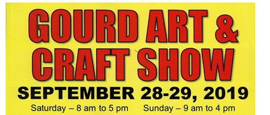 Gourdfest 2019-Gourd Art & Craft Show