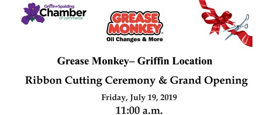 Ribbon Cutting - Grease Monkey