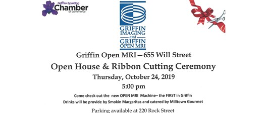 Ribbon Cutting & Open House - Griffin Imaging & Open MRI