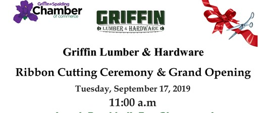 Griffin Lumber & Hardware - Ribbon Cutting