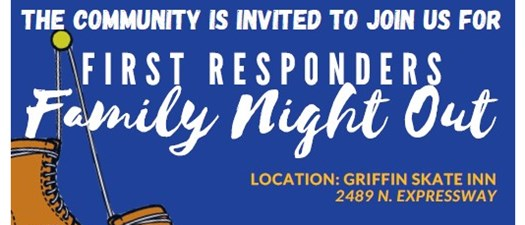 1st Responders Family Night Out at Griffin Skate Inn