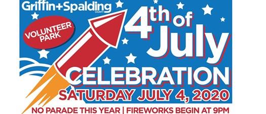 Griffin Spalding Fireworks