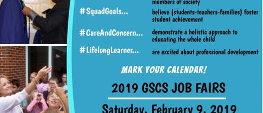GSCS Job Fairs