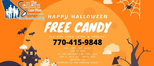 Happy Halloween from The Sellers Law Firm