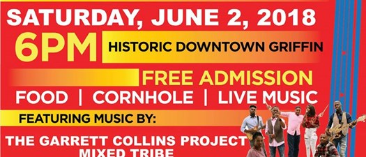 Griffin Downtown Council June Jam 2018