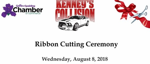 Kenney's Collision Center Ribbon Cutting