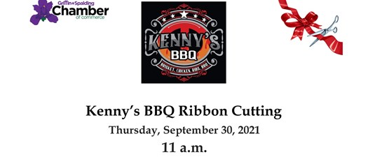 Ribbon Cutting - Kenny's BBQ