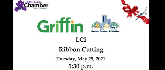 Ribbon Cutting - LCI Project (Livable Centers Initiative)