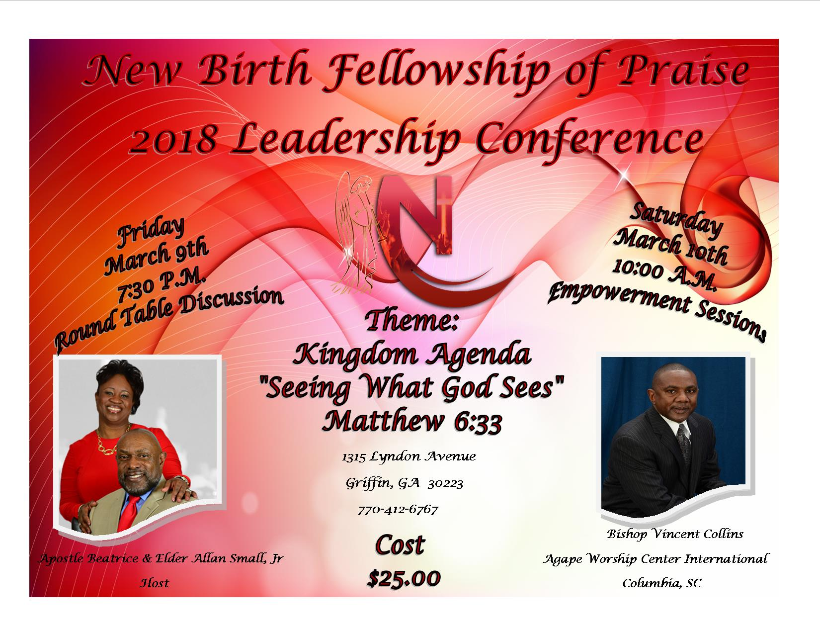 New Birth Fellowship of Praise 2018 Leadership Conference