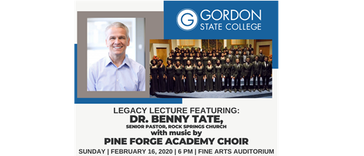 Legacy Lecture Featuring Dr Benny Tate