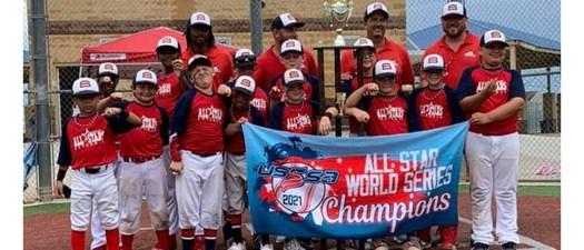 Celebration/Parade for Spalding 10u Navy Allstars World Series Champions