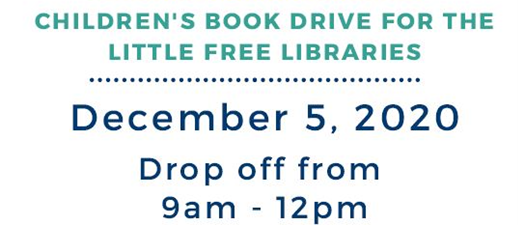 Children's Book Drive for the Little Free Libraries