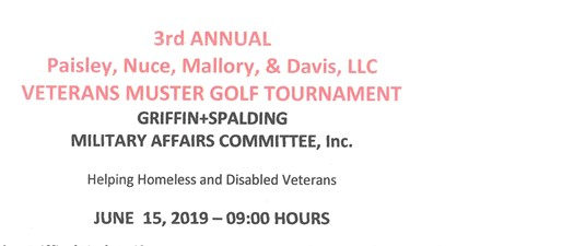 3rd Annual Veterans Muster Golf Tournament