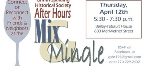 Griffin Historical Society Host Mix and Mingle