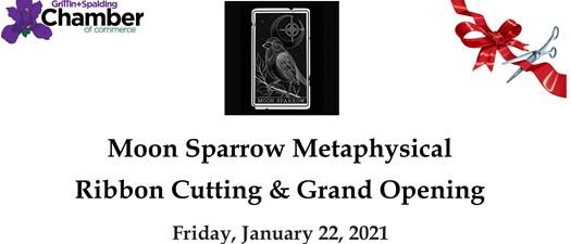 Ribbon Cutting - Moon Sparrow Metaphysical