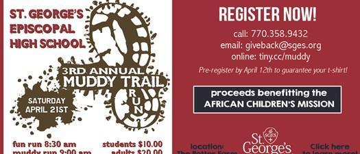 St George's High School 3rd Annual Muddy Trail