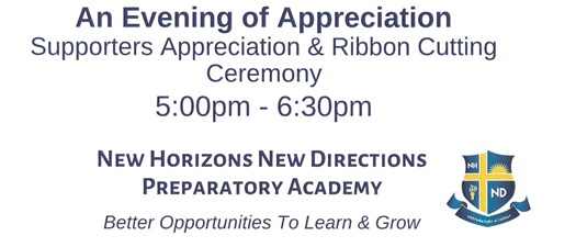 Ribbon Cutting - New Horizons New Directions Prep Academy