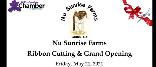 Ribbon Cutting - Nu Sunrise Farms