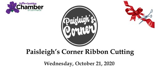 Ribbon Cutting - Paisleigh's Corner Boutique