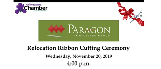 Ribbon Cutting - Paragon Consulting Group