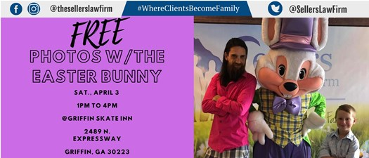 FREE Photos with the Easter Bunny