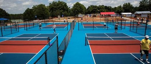 Spalding County Senior Games - Pickleball
