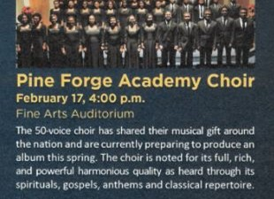 Pine Forge Academy Choir at Gordon State College