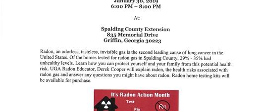Radon Awareness Program