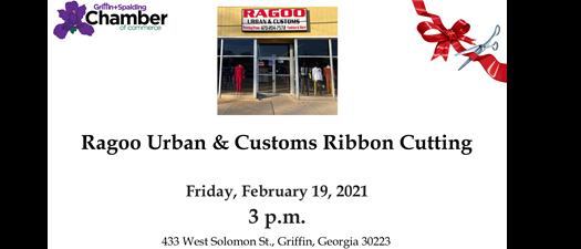 Ribbon Cutting - Ragoo Urban & Customs