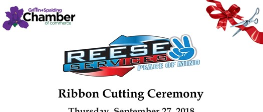 Reese Services Ribbon Cutting