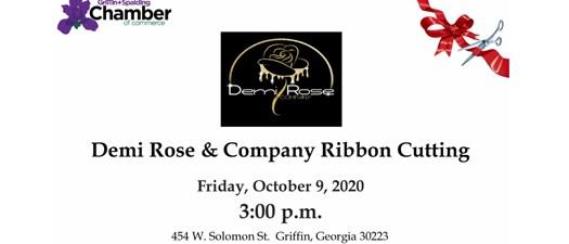 Ribbon Cutting - Demi Rose & Company