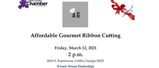 Ribbon Cutting - Affordable Gourmet
