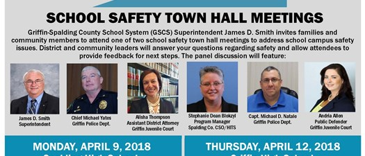 Griffin-Spalding County Schools Safety Town Hall Meeting
