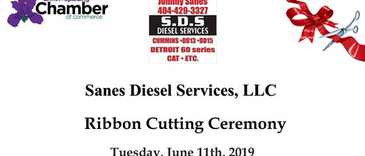 Ribbon Cutting - Sanes Diesel Services