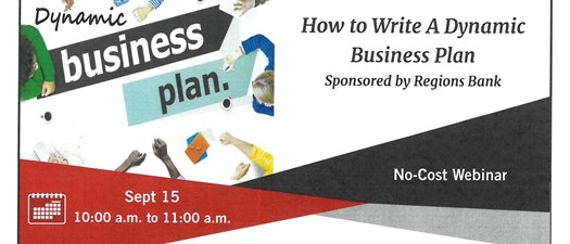 How to Write a Dynamic Business Plan Webinar