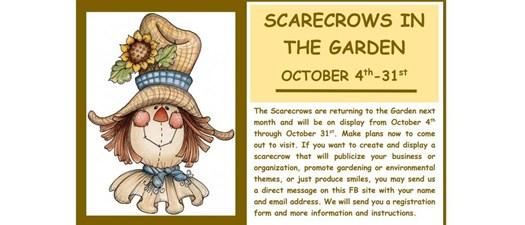 Scarecrows in the Garden