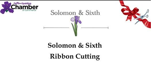 Ribbon Cutting - Solomon & Sixth