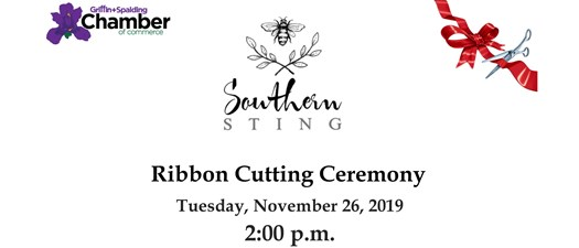 Ribbon Cutting - Southern Sting