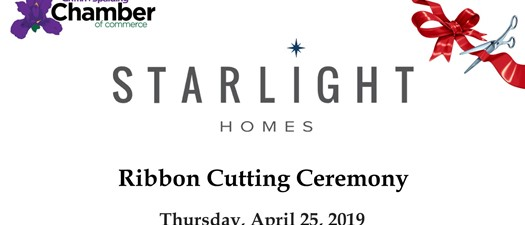 Ribbon Cutting - Starlight Homes