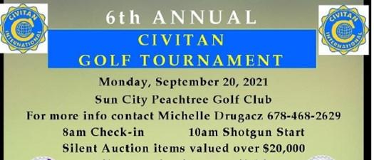 6th Annual Civitan Golf Tournament