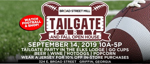 Tailgate Party & Fall Open House