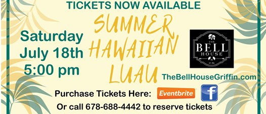 Summer Hawaiian Luau at The Bell House