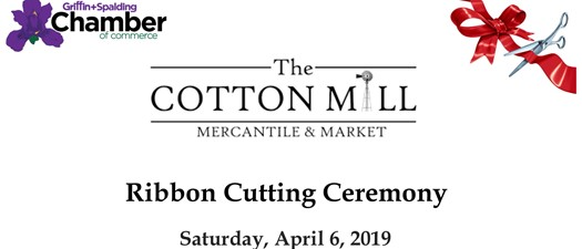 The Cotton Mill Mercantile Ribbon Cutting