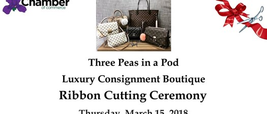 Ribbon Cutting- Three Peas in A Pod