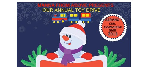 Manna From Above Toy Drive 2021