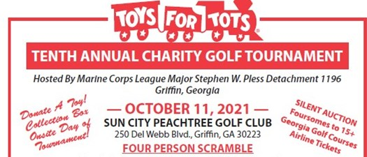 10 Annual Toys for Tots Golf Tournament