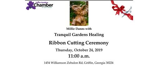 Ribbon Cutting - Tranquil Gardens Healing