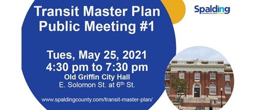 Transit Master Plan Public Meeting #1