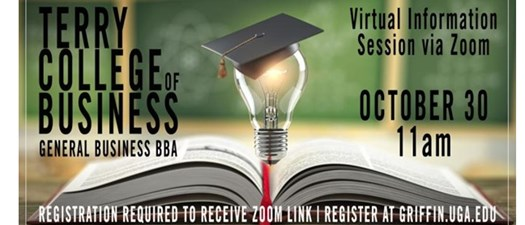 UGA Terry College of Business Virtual Info Session