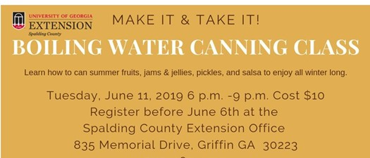 Boiling Water Canning Class